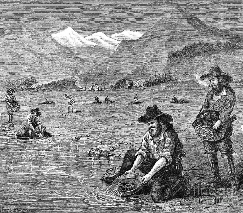 a history of the california gold rush event of 1848 The california gold rush began in 1848 and rush to gold: the french and the california gold rush series of events that would influence the history of.