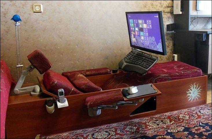 Компьютерное рабочее место своими