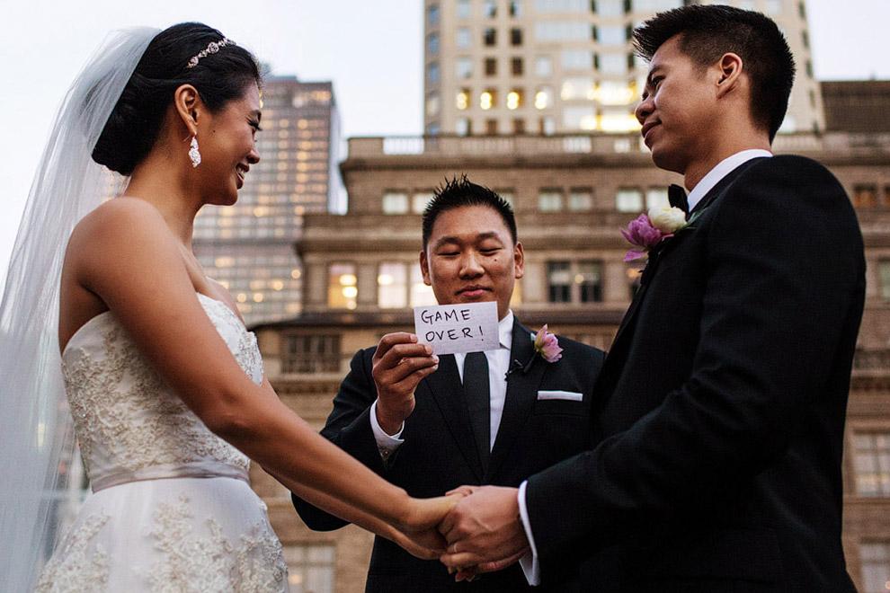 Самые прикольные фото свадеб